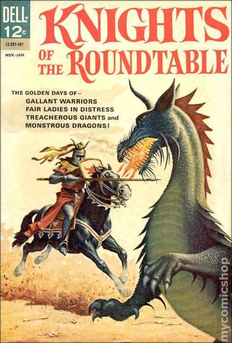 Knights of the Round Table (1964 Dell) comic books