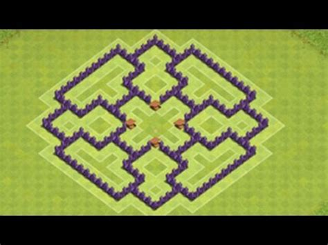 Clash of Clans-Town Hall 7 Defense (CoC TH7) BEST Trophy