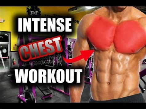 Intense Chest Workout at Planet Fitness (Yes Planet