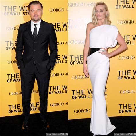 Leonardo DiCaprio and Margot Robbie Attend 'Wolf of Wall