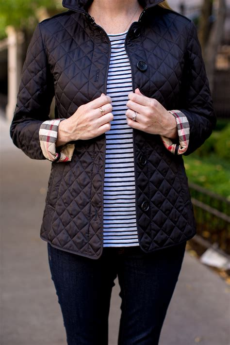 The Classic Burberry Jacket - Kelly in the City