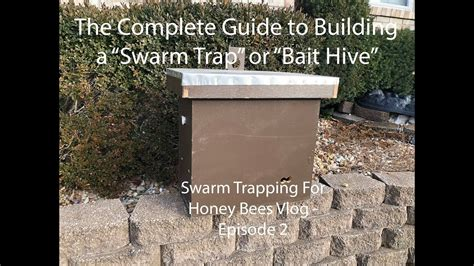 The Complete Guide to Building a Swarm Trap or Bait Hive