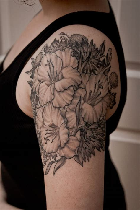 Flower Tattoo Design Part Two - We Need Fun