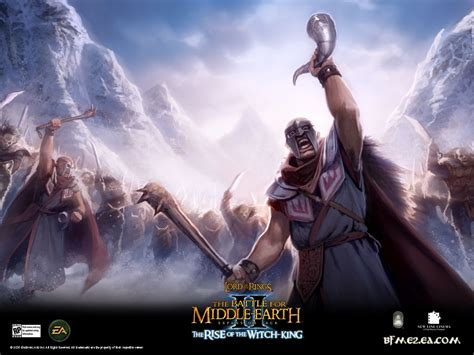 A wallpaper image - Battle for Middle-earth II: Rise of