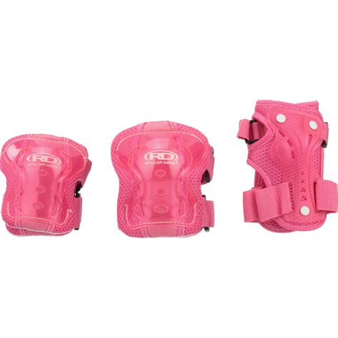 Roller Derby® Girls Youth Protective Wrist, Elbow, & Knee