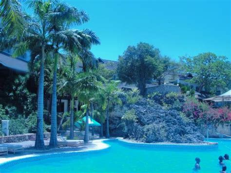 Swimming pool overlooking sea - Picture of Diani Reef