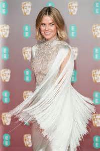 Alice Eve Attends 2020 EE British Academy Film Awards at