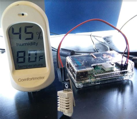 IoT Temperature & Humidity to Initial State Using a