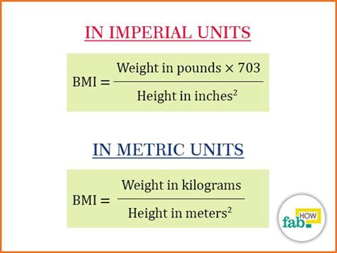 How to Correctly Calculate your Body Mass Index (BMI
