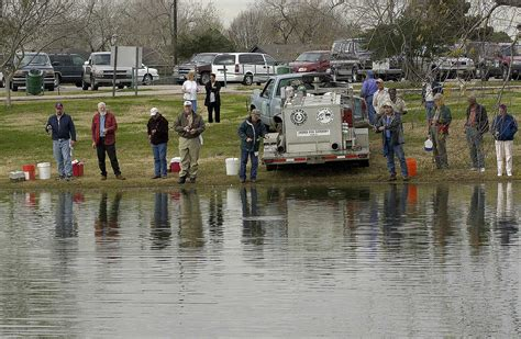 State spreading holiday fishing cheer to local ponds