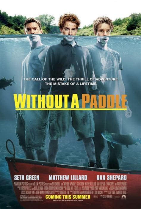 Without a Paddle Movie Poster (#1 of 2) - IMP Awards
