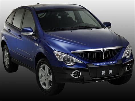 SSANGYONG Actyon specs - 2006, 2007, 2008, 2009, 2010