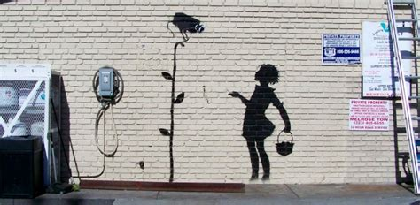 Banksy in New York for a month, as his graffiti hits the