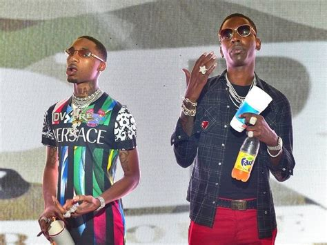 """Key Glock and Young Dolph pull up """"back to back"""" in the"""