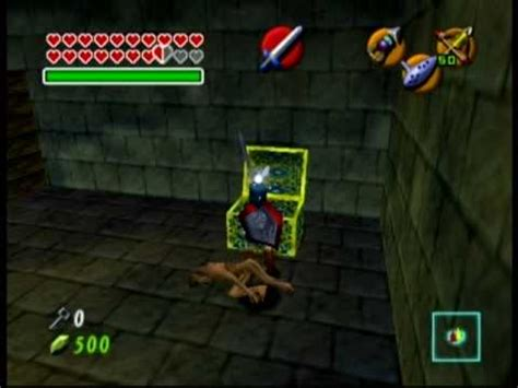 Zelda Ocarina Of Time: get the shadow temple's boss key