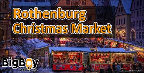 Advent Christmas Market In Rothenburg Germany - Event