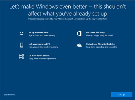 """New prompt will encourage Windows 10 users to """"Let's make"""