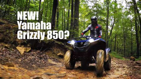 » NEW Yamaha Grizzly 850?