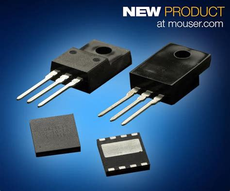 Mouser is now offering gallium nitride (GaN) solutions