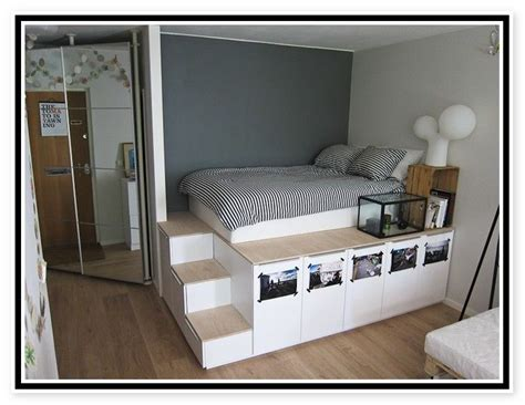 pedestal beds - Google Search   Bed frame with storage