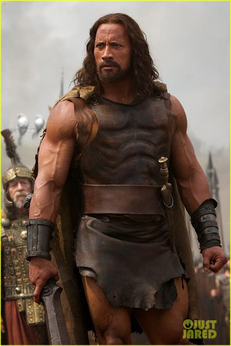 Dwayne Johnson's Muscles Are Insane in New 'Hercules