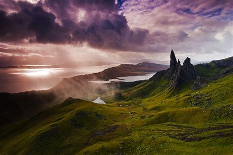 12 Dramatic Shots of the Old Man of Storr in the Isle of