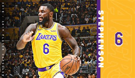 2019 Player Capsules: Lance Stephenson | Los Angeles Lakers