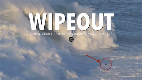 Big Wave Wipeout and Jetski Rescue gone wrong @ Nazaré