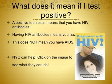 How to get tested for HIV