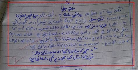 Here is How a Topper Gets 94 Marks in Urdu with Pictures
