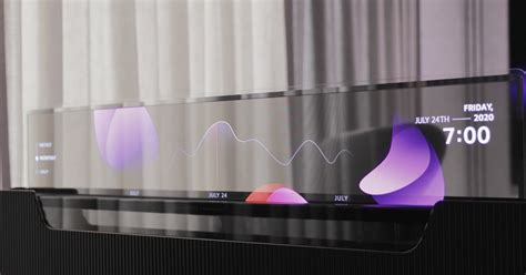LG imagines a bed with a hidden see-thru OLED TV set - The