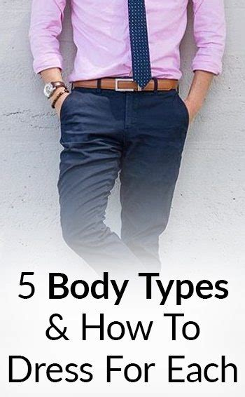 Most Attractive Body Type For Men? | Dress Right For Your