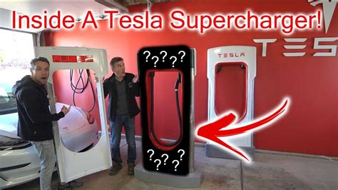 What's Inside A Tesla Supercharger? Let's Take A Look