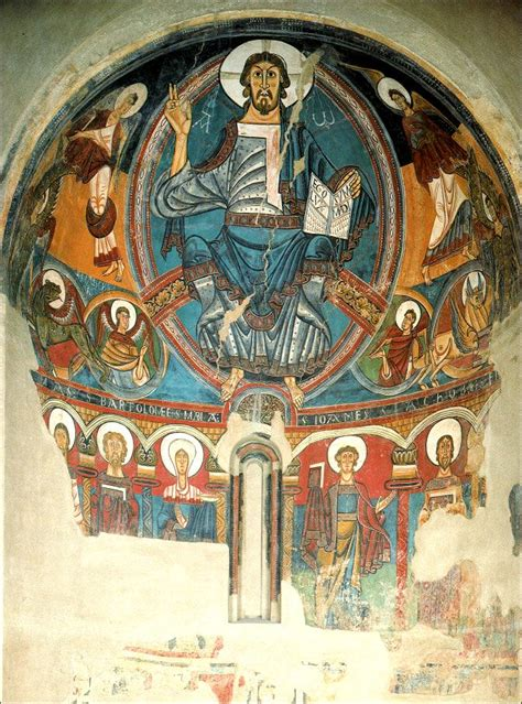 ROMANESQUE PAINTING - MURAL PAINTINGS