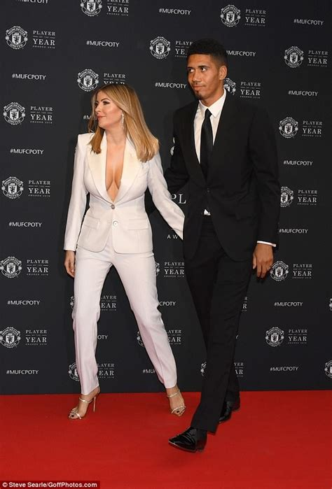 Manchester United Awards: Chris Smalling's wife Sam Cooke