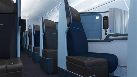 KLM's 787-9 – in-flight Wi-Fi and World Business Class seats
