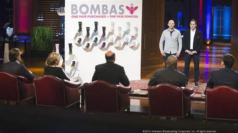 Bombas fends off tough questions on Shark Tank, gets deal