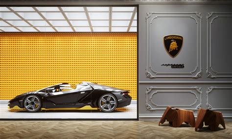 Supercar Capsule Is a Garage as Opulent as the Supercar