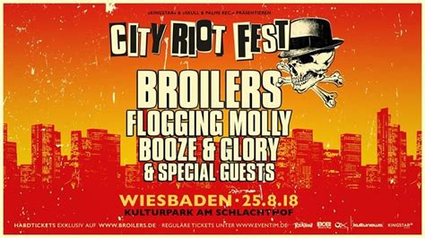 Party - Broilers • City Riot Festival • Wiesbaden
