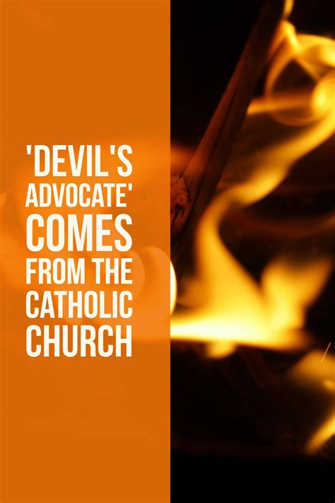 What Is the Meaning of 'Devil's Advocate'?   Grammar Girl