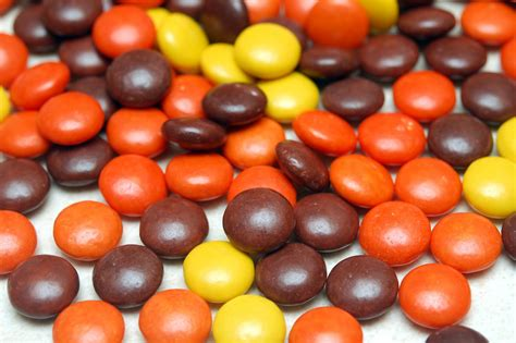 REESE'S PIECES FLOURLESS CHOCOLATE COOKIES - Hugs and