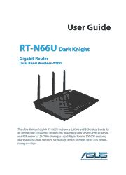 Asus RT-N66U Wireless Router User Guide - PDF - UserDrivers