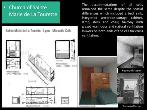 Le Corbusier - manifestation of human scale into