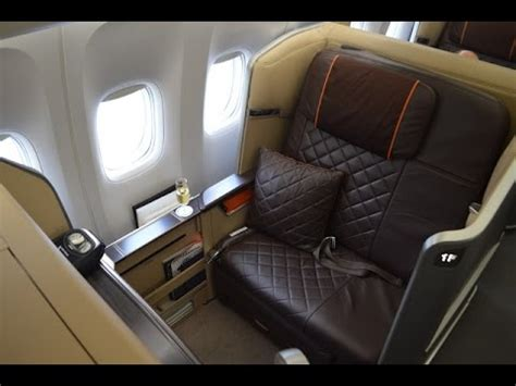 Singapore Airlines 'New' First Class B777-300ER