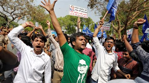 Dalits in India hold protests against 'dilution' of SC/ST