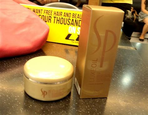 Review: Hair Spa with Wella SP Luxe Oil Collection at