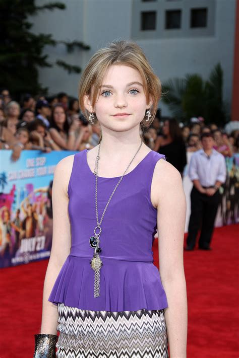 Morgan Lily at the Los Angeles Premiere of STEP UP