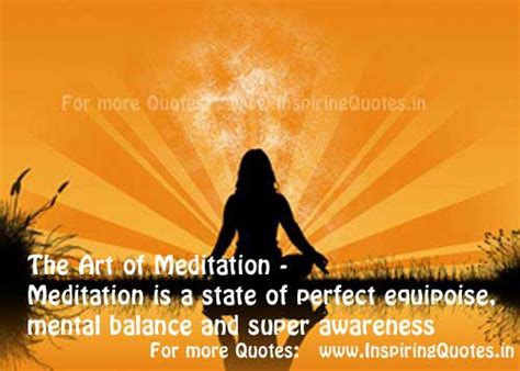 Daily Meditation Quotes with Pictures, Mental Balance