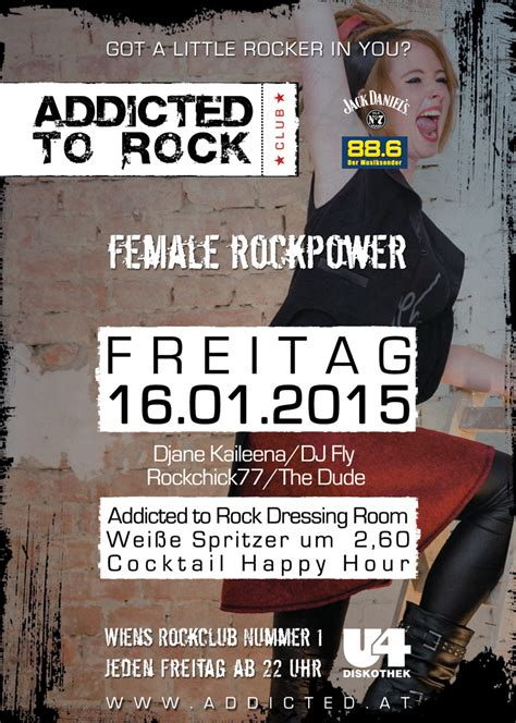 Addicted to Rock - Female Rockpower