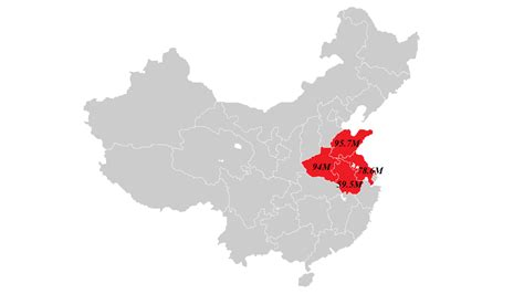 This Infographic Shows How Dense China's Population Really